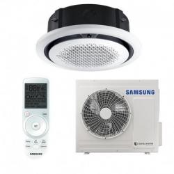 Samsung Mennyezeti 360°-os kazettás (AC071MXADKH/EU+AC071MN4PKH/EU)+választható dekorpanellel KIFUTÓ