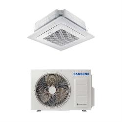 Samsung Mennyezeti 4 utas mini kazettás Wind-Free (AC026RNNDKG/EU+AC026RXADKG/EU)+választható dekorpanellel