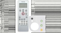 Toshiba Keskeny Kazettás készülékhez (RBC-AX32UM(W)-E)