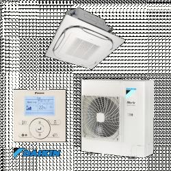 Daikin SkyAir Active inverteres klíma (FCAG125B/AZAS125MV1) dekorpanellell - 1 fázisú