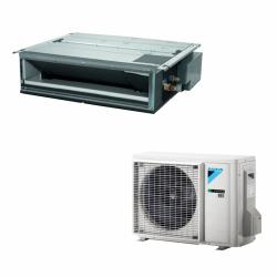 Daikin SkyAir Légcsatornázható (FDXM25F9/RXM25N9) inverteres klíma - távirányító nélkül