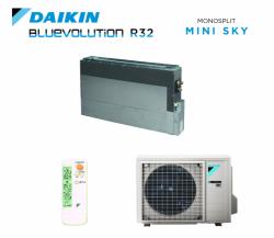 Daikin SkyAir Padlón álló légcsatornázható (FNA25A9/RXM25N9) inverteres klíma - távirányító nélkül
